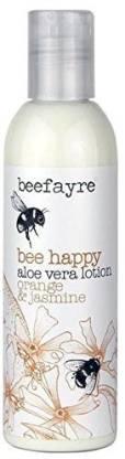 Beefayre Happy Orange Jasmine Aloe Vera Lotion