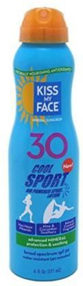 Kiss My Face Sunscreen Cool Sport Spray Lotion