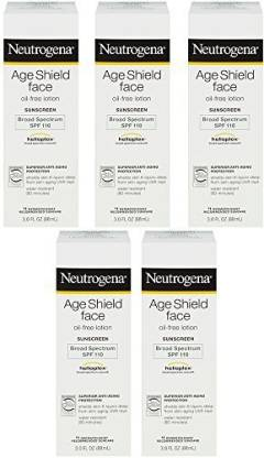 NEUTROGENA Age Shield Face Yqhhg OilFree lotion