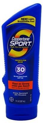 Coppertone Sport lotion