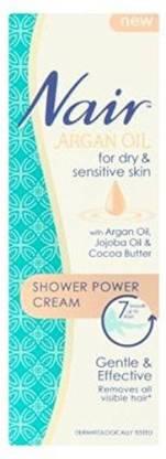 Generic Nair Argan Oil Dry Sensitive Shower Power Cream