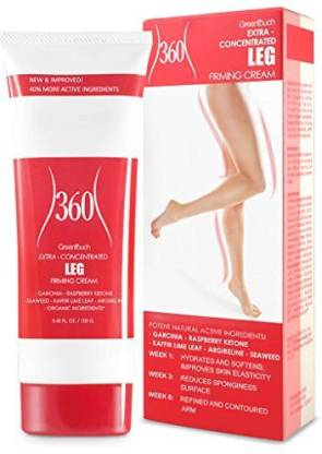 GREENTOUCH Anti Cellulite Cream For Thighs Legs And Buttocks
