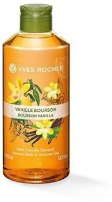 YVES ROCHER Four Piece Bath Moisturizing Vanilla Shower Gel lotion