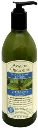 Generic Orgavalon Ani Peppermint Hand And Body Lotion