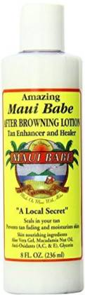 Maui Babe Value After Browning lotion