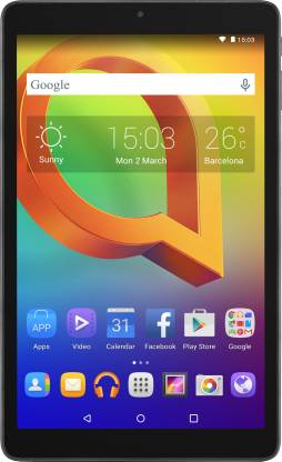 Alcatel A3 10 1 GB RAM 16 GB ROM 10 inch with Wi-Fi Only Tablet (Black)