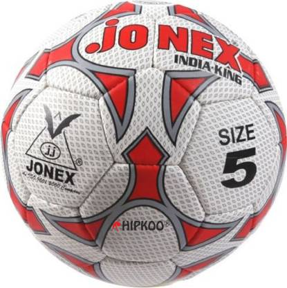 JONEX HIPKOO STORM FAMOUS INDIA KING Football - Size: 5