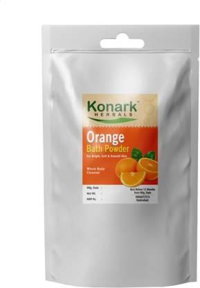Konark HERBALS Orange Bath Powder, 100gms