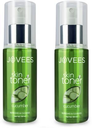 JOVEES Cucumber Skin Toner Pack of 2 Women