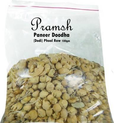 Pramsh Traders Paneer Dhodha (Dodhi) Phool Raw 100gm