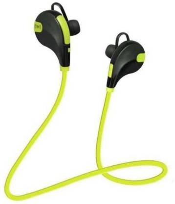 Trost QY7 Jogger Headphone Green, On the Ear  Trost Headphones