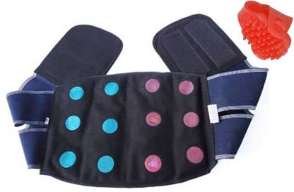 ACM Acupressure 12 powerful magnets Jeans Back & Belly Belt For Stress And Pain Relief with thumb pad