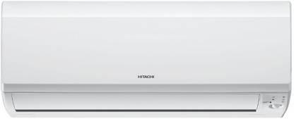 Hitachi 1 Ton 3 Star Split AC  - White