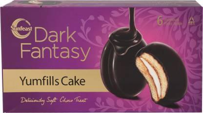 Sunfeast Dark Fantasy Yumfills Cake Cookie Cake