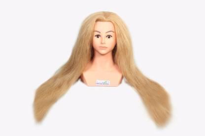 Ritzkart 28 inch long heavy & soft  100% Real Human Blonde  Hair Extension