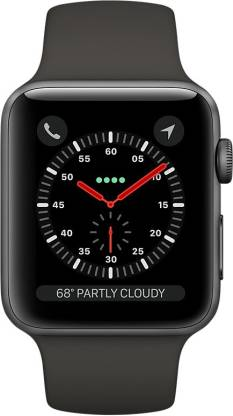Apple Watch Series 3 GPS + Cellular - 38 mm Space Grey Aluminium Case with Sport Band