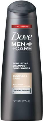DOVE Men+ Care Complete Care 2in1 Shampoo (Made in USA)