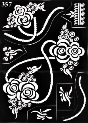 ARR Henna Stencils HS 357