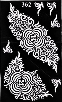 ARR Henna Stencils HS 362