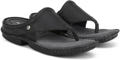 Hush Puppies NEW DECENT THONG Men Black Sandals