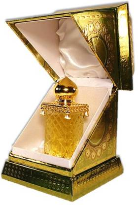 KIVALO Ⓡ Haramain Pure Original Ajwa Fragrance Perfume Oil (Attar) with Agarwood, Musk - 30 ml Floral Attar