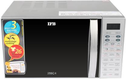 IFB 25 L Metallic silver Convection Microwave Oven