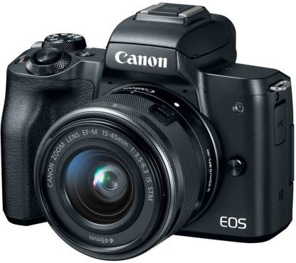 Canon M50 Mirrorless Camera Body with Single Lens EF-M 15-45 mm IS STM