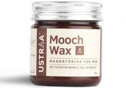 Ustraa By Happily Unmarried Mooch Wax - Hair styling Gel for Men Hair Wax