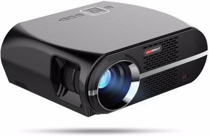 OVIO Vivibright GP100 Video Projector,3500 Lumens LCD 1080P Full-HD LED Portable Multimedia Home Theater Projector Portable Projector