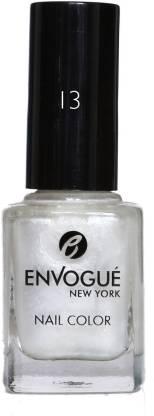 ENVOGUE Nail Polish Sleek White 9.5ml Sleek White