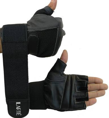 ILARTE Gym Gloves / Sports Gloves / Fitness Gloves / Training Gloves / Exercise Gloves / Weight Lifting Gloves (L) Gym & Fitness Gloves