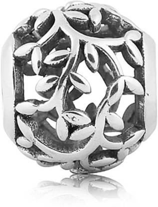 Linkingcharms 92.5 Sterling Silver Charms For Women, Girls - Tree of Life Silver Beaded Charm