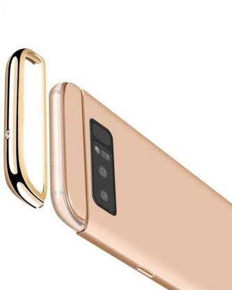 SKIN WORLD Back Cover for Samsung Galaxy Note 8 Gold