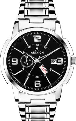 ADIXION 1015SM01 ADIXION - AD1015SM01 Day & Date Formal Men's Watch Analog Watch - For Men