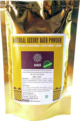 Kamalu - the rural mantra Kamalu Natural Luxury Bath Powder 100grams-Ubtan(Body soap alternative)Handmade