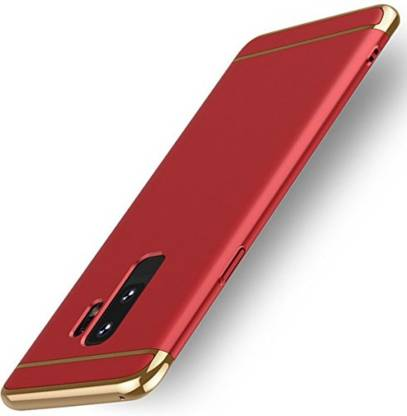 SKIN WORLD Back Cover for Samsung S9 S9 + Red
