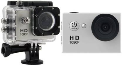 VIZIO Action Shot HD Action Shot Full HD 12MP 1080P Black Helmet Sports Action Waterproof Camera Sports and Action Camera