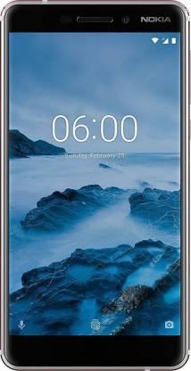 Nokia 6.1 (Iron, White, 32 GB)