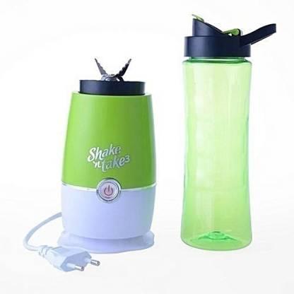 Shake N Take SNT – 002 .3 KITCHEN JUICER 3 (BOTTLE -750 ML)) 350 W Juicer (1 Jar, Green)