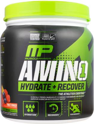 MUSCLEPHARM Amino1 (Fruit Punch) EAA (Essential Amino Acids)