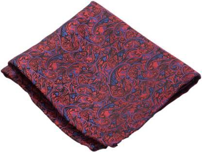 To The Nines Self Design Cotton Blend Pocket Square