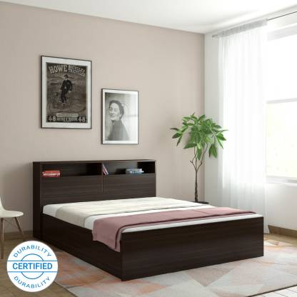 Hometown Alex Engineered Wood Queen Box Bed