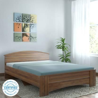 SPACEWOOD Engineered Wood Queen Bed