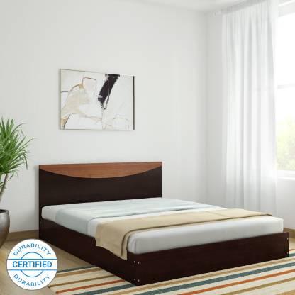 Flipkart Perfect Homes Carol Queen Low Bed