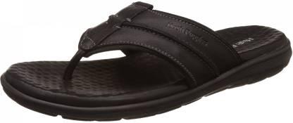 Hush Puppies By Bata CHARLES THONG Men Black Sports Sandals
