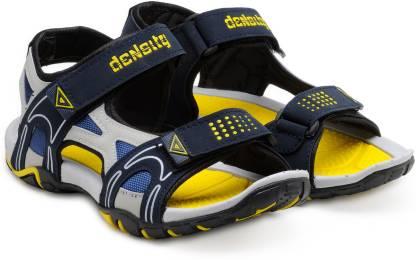 Density Men Yellow Sports Sandals