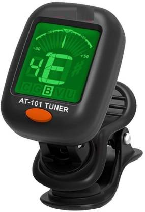 QUINERGYS ™ Aroma Clip-on Tuner for Guitar,Ukulele,Bass,Violin,Mandolin,Banjo,Chromatic Tuning,Large Clear Colorful LCD Display for Guitar Tuner,Chromatic Tuner,and Auto power off Tuner Automatic Digital Tuner