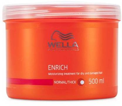 Wella Professionals Professional Enrich Moisturizing Treatment mask 500ml for Dry & Damaged Hair