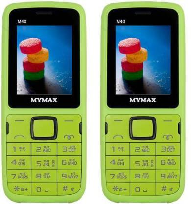 MYMAX M40 Combo of Two Mobiles