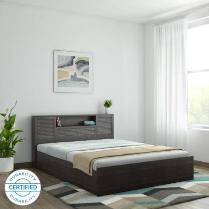 Hometown Bolton Hydraulic Engineered Wood Queen Hydraulic Bed